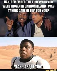 Lando Calrissian Meme - have people noticed that in return of the jedi lando wore the