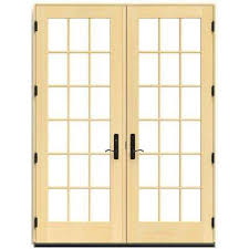 Wood Patio French Doors - french patio door patio doors exterior doors the home depot
