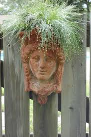face planters 169 best planters images on pinterest head planters garden