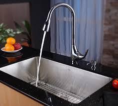 Single Undermount Kitchen Sinks by Kraus Khu10032 32 Inch Undermount Single Bowl Kitchen Sink With 16