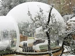 bulle chambre une nuit à la étoile tout confort dans une bulle d air