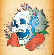 skull tattoo correct colour by utilizzo on deviantart