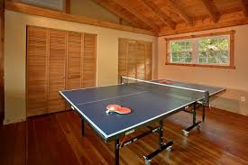 Ping Pong Table Rental Secluded 3 Bedroom Smoky Mountain Luxury Cabin For Rent