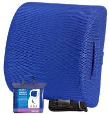 Back Pain Chair Cushion Coccyx Orthopedic Premium Memory Foam Seat Cushion Gray