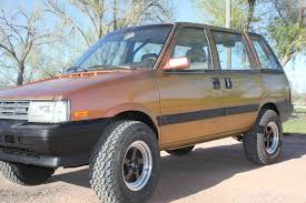 lifted nissan car 1986 nissan stanza 4x4
