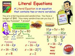 2 8 literal equations and dimensional analysis ppt video online