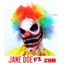 killer clown makeup halloween killer clown mask scary clown costume ahs clown prosthetic