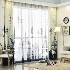 beige paris funky extra wide floor to ceiling french curtains