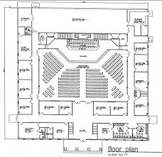 Church Floor Plan by Church Building Plans Church Plan 131 Lth Steel Structures