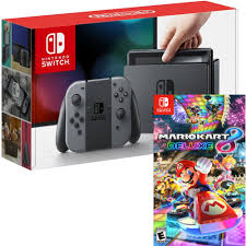 nintendo switch 32gb console and mario kart 8 deluxe digital