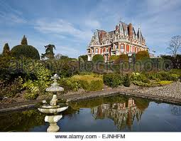chateau impney english hotel in style of french chateau stock