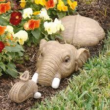 design toscano hazel in for a swim elephant lawn statue reviews