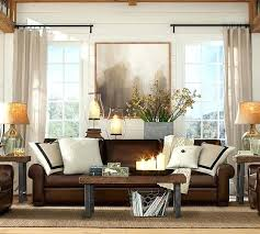 how decorate a living room with brown sofa brown couch living room pinterest lio co
