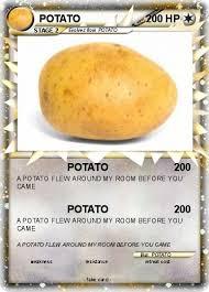 Potato Flew Room Pokémon Potato 438 438 Potato Pokemon Card