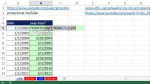 Computer Inventory Spreadsheet Excel Magic Trick 1239 Formula To Indicate A Date Is In Leap Year