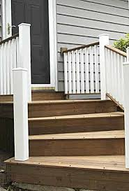 Back Porch Stairs Design 28 Best Fence Images On Pinterest Stairs Back Deck And Balcony