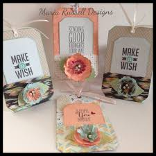 pocket tags u0026 flower tutorial using the envelope punch board youtube