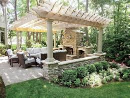 pergola plans with fireplace patio with pergola and fireplace home design ideas pergola with