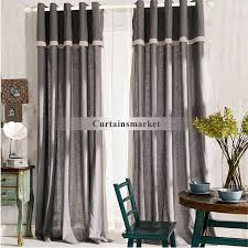 Linen Drapery Gray Linen Curtains Are More Eco Friendly