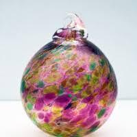 blown glass baubles