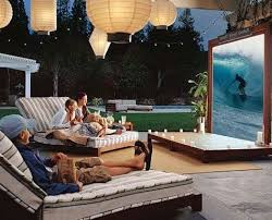 Backyard Theater Ideas Backyard Outdoor Theater Media Magazine