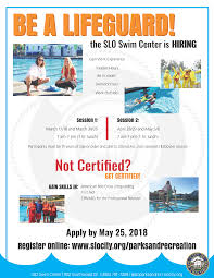 5 hr class online slo swim center city of san luis obispo ca