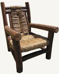 Big Armchair Log Home Large Armchair Handcrafted In Chile
