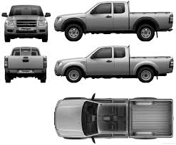 Ford Ranger Truck Bed Dimensions - the blueprints com blueprints u003e cars u003e ford u003e ford ranger super