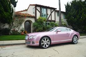 bentley pink bentley u201cpassion pink u201d continental gt is prima autoblog nl