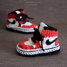 crochet pattern vans style baby sneakers instant download