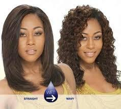 american n wavy hairstyles short wet n wavy wigs wig ponytail