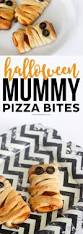 halloween mummy pizza bites printable crush