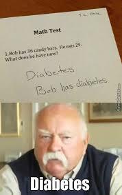 Diabetes Meme Wilford Brimley - wilford brimley s answer by mimi meme meme center