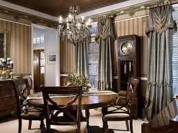 charming formal dining room curtains and dining room curtains