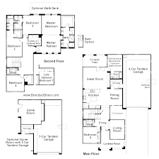 5 bedroom floor plans 2 story tangerine crossing floor plan premier series badra model