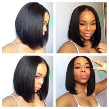 center part bob hairstyle sew in bob google search short hair for college pinterest