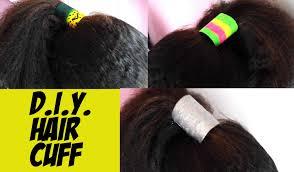 hair cuff diy hair cuffs easy