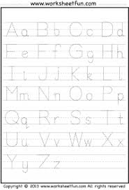 printable alphabet tracing letters free letter tracing a z free printable worksheets worksheetfun