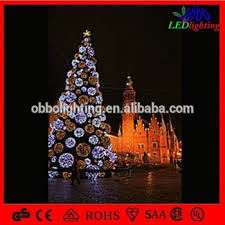 outdoor christmas tree ball lights large red ball tree christmas