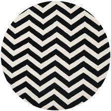 Black Circle Rug Round Black And White Rug Best Rug 2017