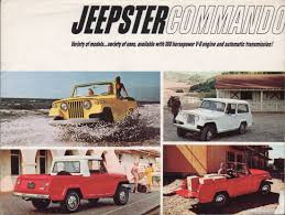 1970 jeep commando for sale kaiser 1966 jeepster commando jeep sales brochure