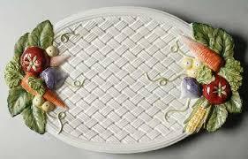 fitz floyd vegetable garden basket at replacements ltd