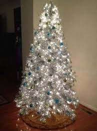 silver tinsel christmas tree silver stardust tinsel tree christmas tree tinsel tree and