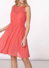 showcase coral u0027grace u0027 prom dress dresses dorothy perkins