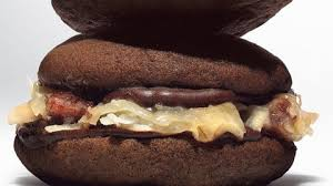 whoopie pies with german chocolate filling recipe bon appetit