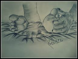 sketch of babies hand and feet desipainters com