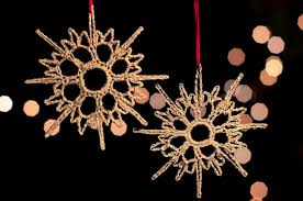 crochet patterns for snowflake ornaments