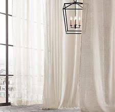 Restoration Hardware Belgian Opaque Linen Restoration Hardware Solid Curtains Drapes U0026 Valances Ebay