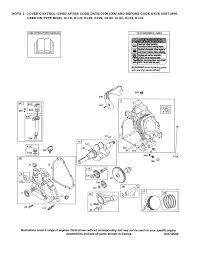 briggs u0026 stratton engine parts model 2044120147e1 sears