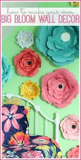 best 25 flower wall decor ideas on diy wall flowers